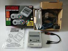 Official Boxed Super Nintendo SNES Classic Mini & EXTRAS!