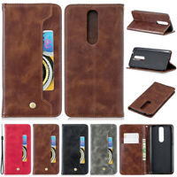 Luxury Card Wallet Leather Flip Case Cover For Nokia 3.2 4.2 2.1 3.1 5.1 7.1 5 1