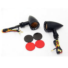 2pcs Bullet Motorcycle LED Turn Signal Light For Honda Fury Rebel 250 Shadow 750