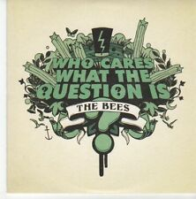 (EB614) The Bees, Who Cares What The Question Is - 2007 DJ CD