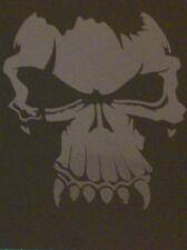 Nuevo S2.2 Calaveras aerógrafo de plantilla Máscara plantilla textil Zombies Pintura Artesanía