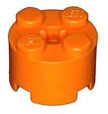 Manca il mattoncino LEGO 3941 ARANCIONE MATTONE 2 x 2 Round per imposta 4586 4093 9761 8959
