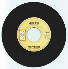 ROCK/POP 45 THE VOGUES MAGIC TOWN ON CO & CE  VG ORIGINAL