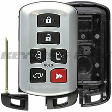 Keyless Remote Key Shell Case for 2011 2012 2013 2014 Toyota Sienna HYQ14ADR
