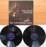 Johann Christoph Friedrich Bach Die Auferweckung Lazarus NM 2xLP FSM 53 109/10