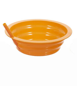 ARROW SIP A BOWL W/STRAW BUILT IN, 22 OZ., BPA FREE, 5 COLORS, MADE IN USA, NWT