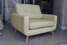 Barbican Snuggler Armchair Milo Spot Citrine Yellow RRP £1049 New Warranty