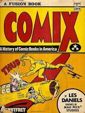 DANIELS, Les - COMIX. A History Of Comic Books In America.