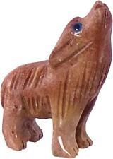 Peruvian Dolomite WOLF Pocket Animal Spirit Totem!