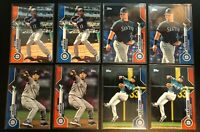 (32) 2020 Topps Mariners Lot Orange Blue Parallel /99 SP SSP Insert Seattle