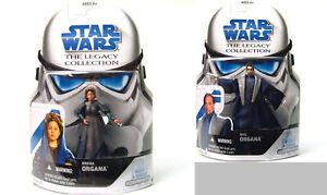 Star-Wars lot 2 figurine Hasbro The Legacy Collection Bail et Breha ORGANA NEUVE