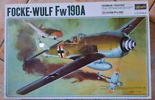 Hasegawa 1/32 Foke Wulf Fw190A vintage 1987