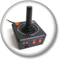 "Atari Game Console Controller 25mm 1"" Pin Button Badge Video Retro Gamer Geek"