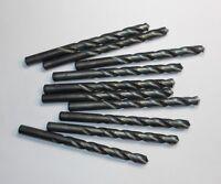 """3 Pcs Jobber Length Drills /""""U/"""" 0.368/"""" HSS Oxide 118° 3-5//8/"""" LOC x 5/"""" OAL"""