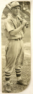 "1930-32 Mel Ott, New York Giants, Original Photograph, 2.25"" x 7.25"""