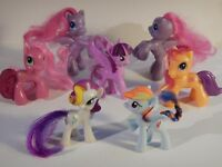 My Little Pony lot of 7 McDonald's Happy Meal Toys MLP