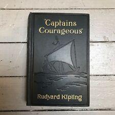 Captains Courageous Kipling Vintage 1934 Hardcover Doubleday Doran &Co.