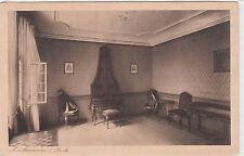 Cartolina Francoforte Goethe casa stanza della musica piano 1 Musikzimmer STOCK