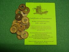 3 Chinese SONG Shipwreck / Ship Wreck Coins