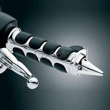 "7/8"" Bullet Chrome Hand Grips Fit Yamaha Virago XV 250 500 535 700 750 920 1100"