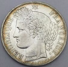 Pièce 5 francs Ceres 1849 A argent #334