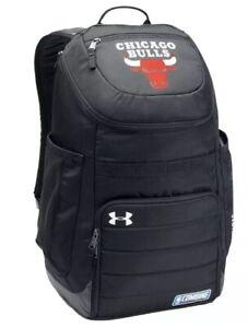 Under Armour Storm NBA Chicago Bulls Combine Undeniable Backpack Black School