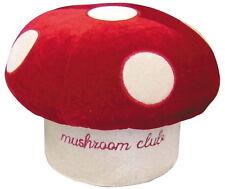 Mushroom Type Small Chair Wine Red fujipacks Japan New F/S