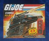 GI JOE Retro Cobra H.I.S.S. Vehicle with Driver Wal-Mart Exclusive New IN HAND!