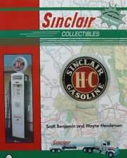 LIVRE/BOOK : Sinclair Collection (globe pompe à essence,boite huile,bidon,plaque