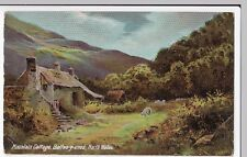 Wales; Mountain Cottage, Bettws-y-Coed PPC, Unposted, By Langsdorff, c 1910's
