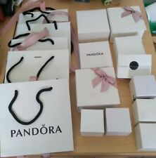 Large Job Lot of Empty Pandora Boxes, & Gift Bags 16 items