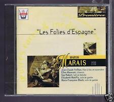 MARIN MARAIS CD NEW LES FOLIES D'ESPAGNE SUITES/ VEILHAN/ MASERATI/ ROBERT