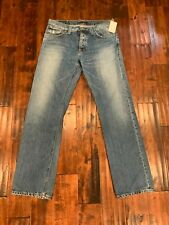 "Nudie Jeans Men's ""Average Joe"" Straight Leg Jeans, Size 36"
