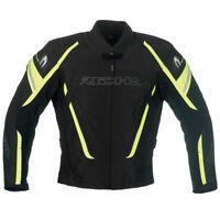 RICHA Cage Black / Fluo   Waterproof Vented Textile Motorcycle Jacket