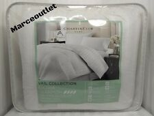 Charter Club Vail Level 4 Extra Warmth Damask Stripe KING Down Comforter