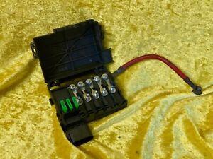VW Golf IV /  Sicherungskasten Abdeckung Batterie Sicherung 1J0937550AB Original