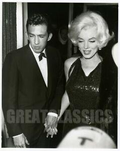 MARILYN MONROE JOSE BOLAÑOS GOLDEN GLOBES 1962 BEAUTIFUL VINTAGE PHOTOGRAPH