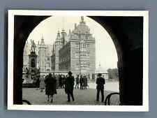 Bernard Lefebvre, Danemark,  Frederiksborg Vintage silver print. Photo provenant