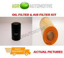 DIESEL SERVICE KIT OIL AIR FILTER FOR FIAT DUCATO 18 2.8 122 BHP 1998-01