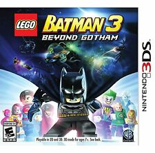 LEGO BATMAN 3: BEYOND GOTHAM (NINTENDO 3DS, 2014) (7413)   **FREE SHIPPING USA**
