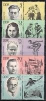 DDR #Mi958-Mi962 MNH CV€12.00 1963 Olympics [B106-B110]