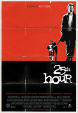25TH HOUR MOVIE POSTER 2 Sided ORIGINAL ROLLED 27x40 EDWARD NORTON SPIKE LEE