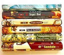 Gr Incense Sticks Best Sellers 6 Boxes X 20 sticks, variety pack (#2)
