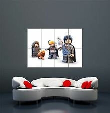 LEGO HARRY POTTER TOYS CHILDREN KIDS FUN GIANT ART POSTER PRINT  WA478