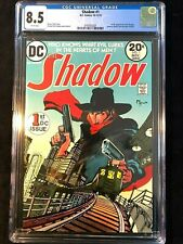 The Shadow #1 CGC 8.5 1st DC Appearance of the Shadow WHITE PAGES - NEW CASE
