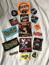 ✨Vintage✨Hip Hop✨Original Promo Stickers✨Supa Bundle✨Redman✨Biz Markie✨Snoop Dog