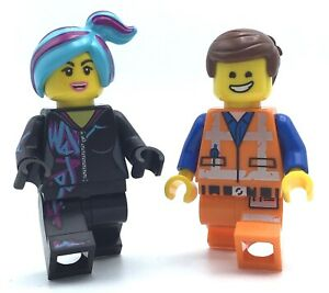 LEGO LOT OF 2 NEW & EMMET WYLDSTLE MINIFIGURES FROM THE LEGO MOVIE FEMALE FIGS