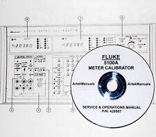 Fluke 5100A Meter Calibrator Instruction (Operating + Service) Manual
