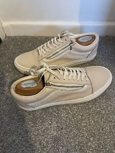 Mens Vans Leather Trainers Size 9