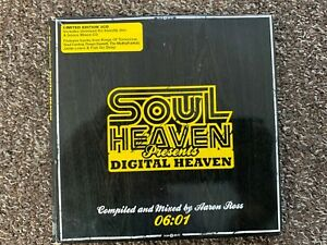 SOUL HEAVEN presents DIGITAL HEAVEN  2 X CD  MIXED & UNMIXED 06.01 free P&P